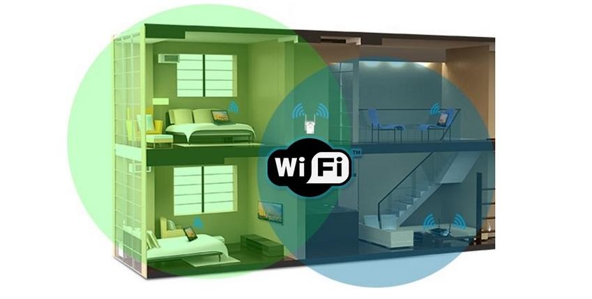 Un extensor de señal inalambrica te permite tener WiFi en toda tu casa