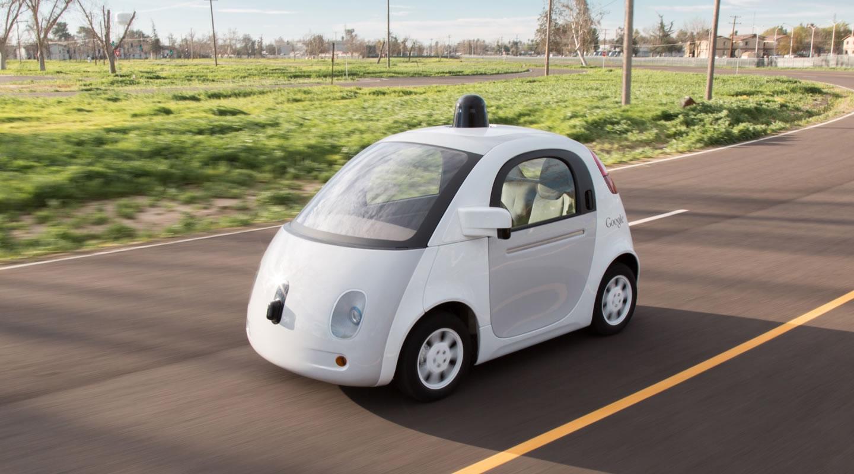Google Car recibe su primera infraccion