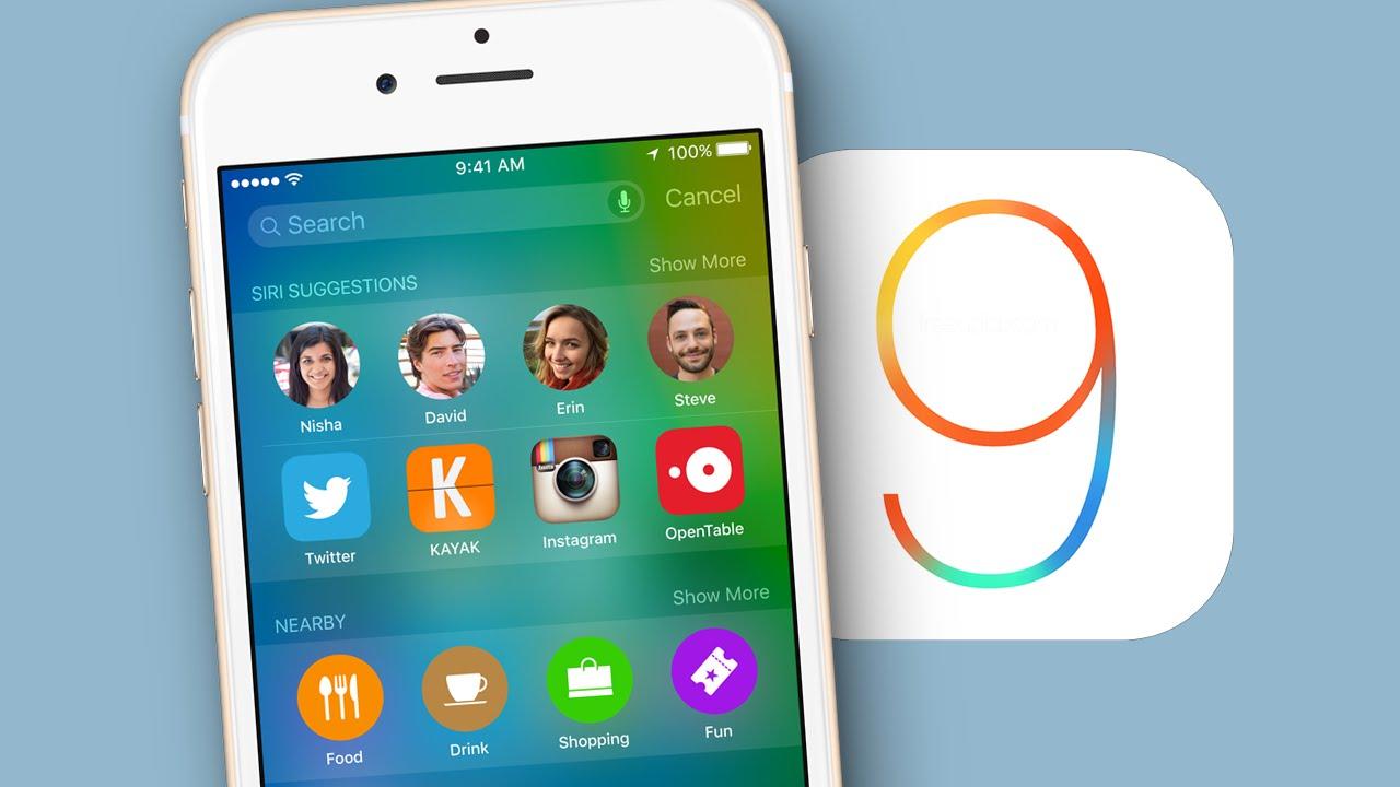 iOS 9 sigue presentado una excelente adopción
