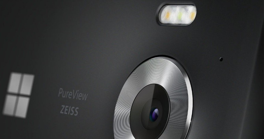 Cámara del Lumia 950