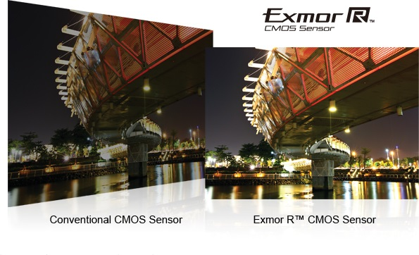 Publicidad Sony CMOS Exmor R