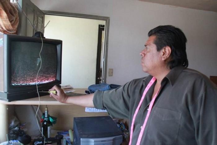 Reparando televisión analógica