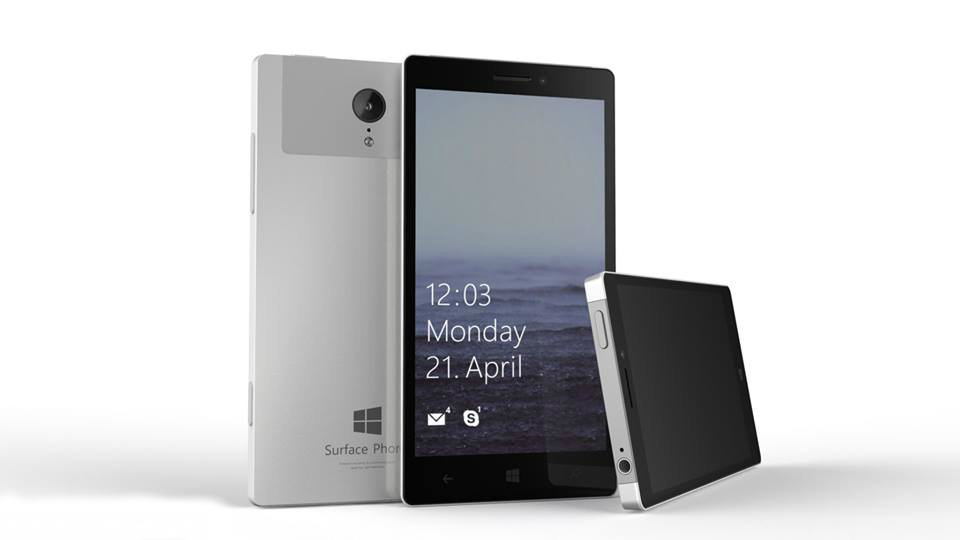 Concepto del Surface Phone