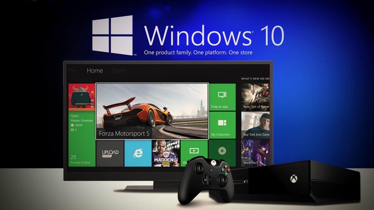 Windows 10 llega a las consolas