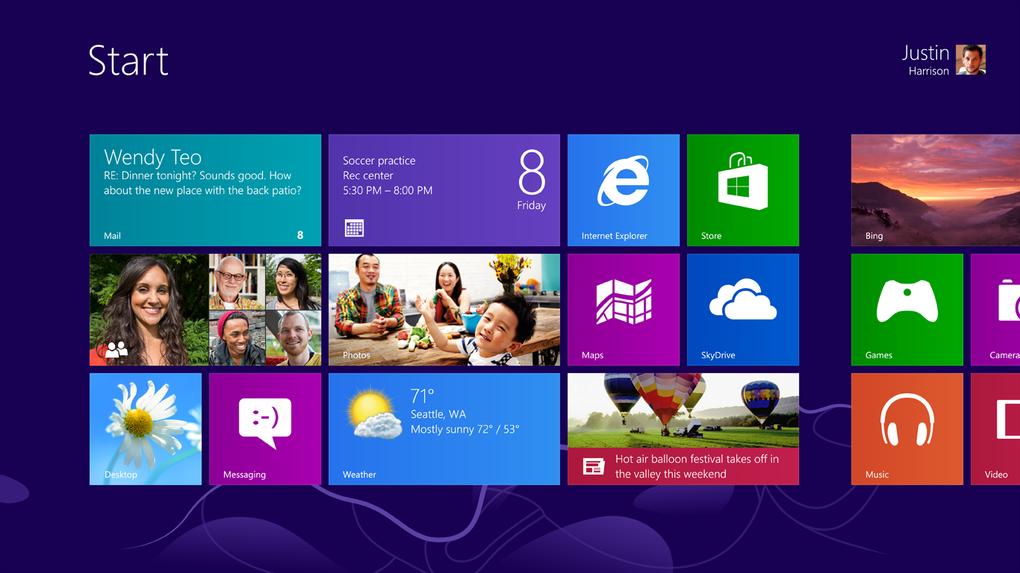 Windows 8 llegó con un cambio total en la interfaz de usuario, apostando por Modern UI con una pantalla de inicio, eliminando el clasico menú de inicio