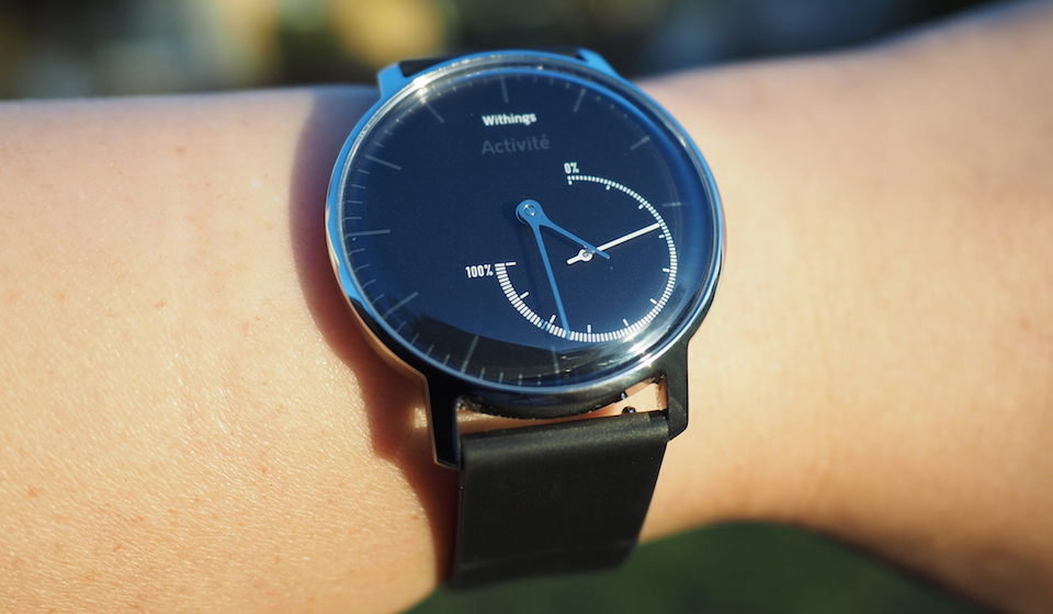 Withings Activité Sttel. Foto: Engadget