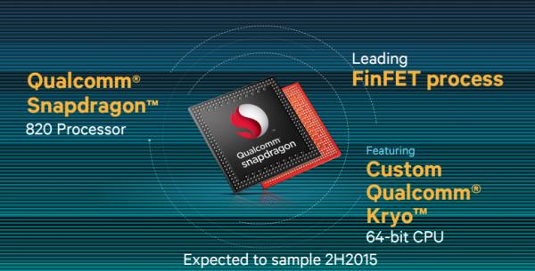 El SD 820 da un salto de generación en cuanto a arquitectura de procesadores