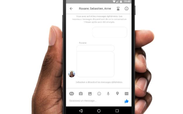 facebook messenger mensajes snapchat 2