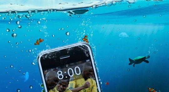 iphone- 7 waterproof concepto