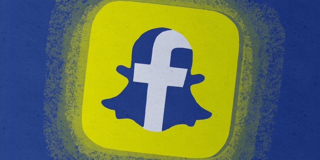 mensajes-snapchat-facebook-messenger
