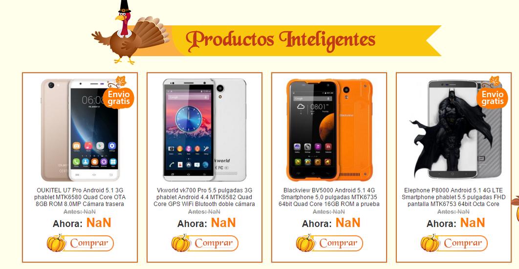 promociones igogo smartphones