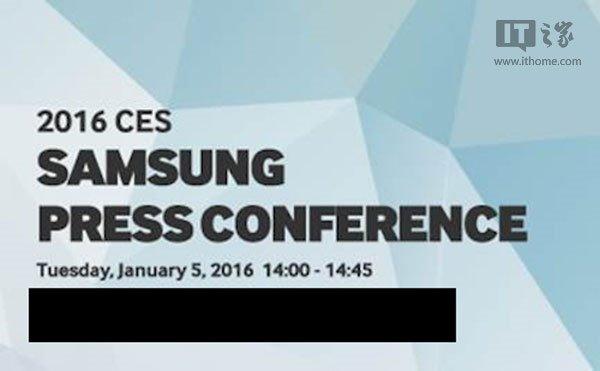 CONFERENCIA de prensa Samsung CES 2016
