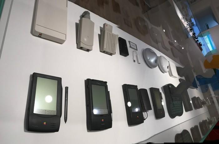 Colección de PDA Apple en Praga