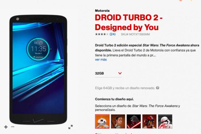 Droid Turbo 2 Star Wars Verizon