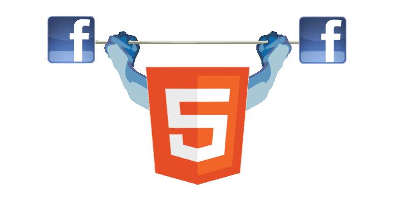 Facebook ahora soporta HTML5 en los videos