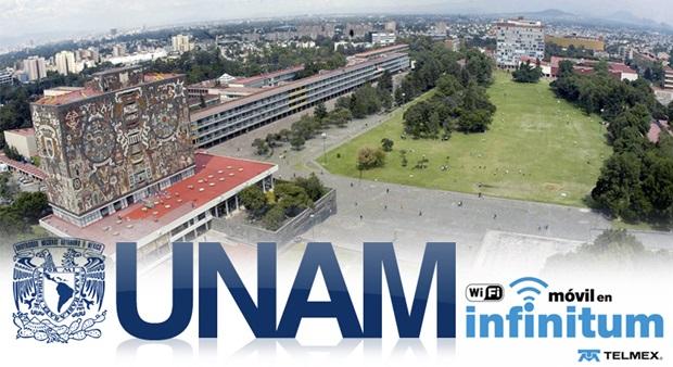 Infinitum Móvil en la UNAM