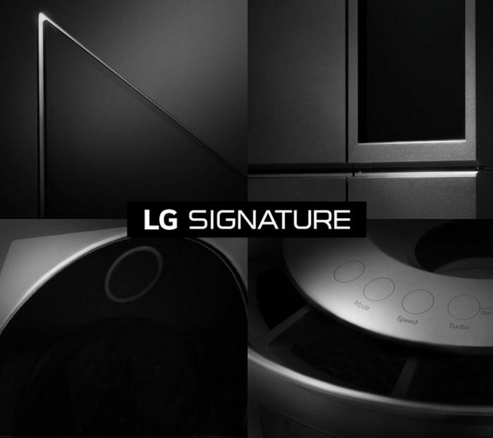 Nueva linea LG Signature