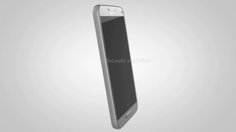 Render filtrado del supuesto Galaxy S7 Plus