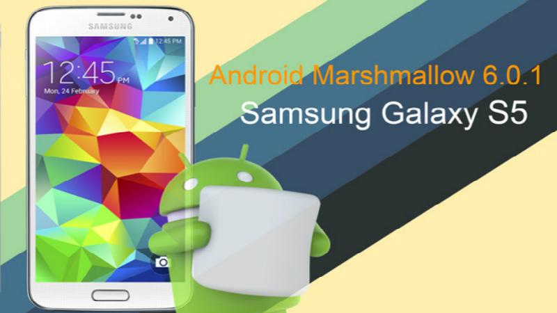Galaxy S5 recibió Marshmallow