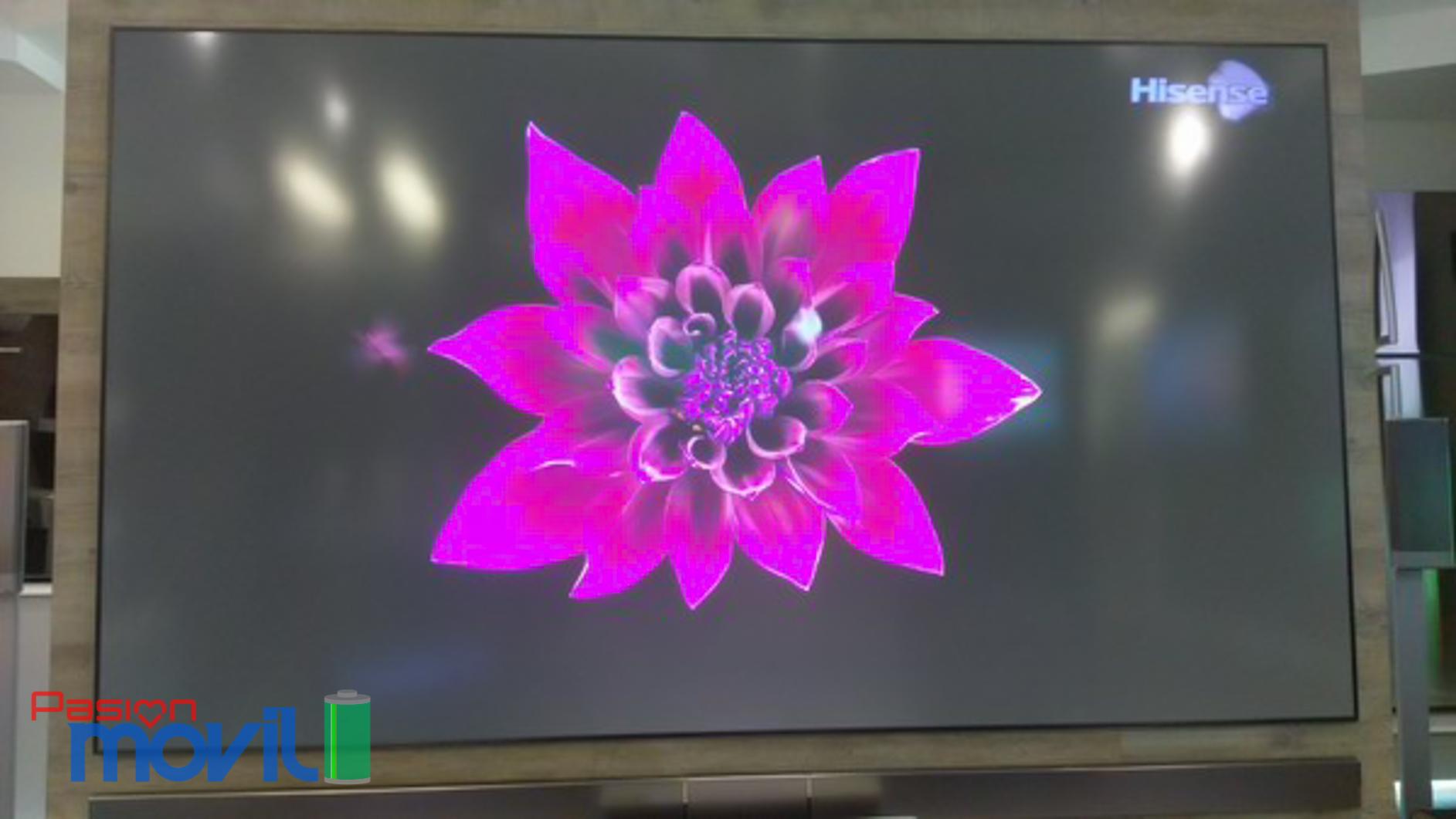 Laser TV de 100 pulgadas