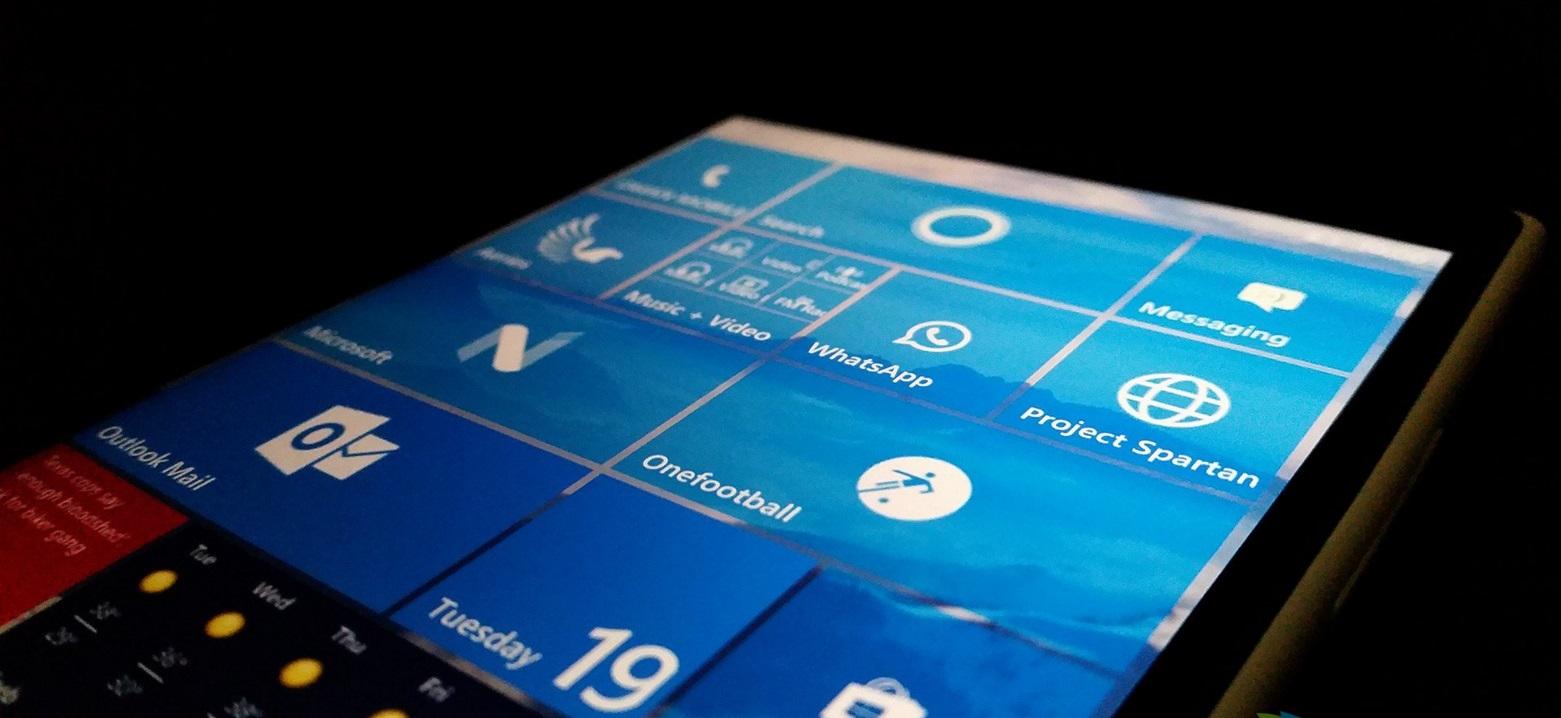 HP lanzaría un phablet con Windows 10 Mobile