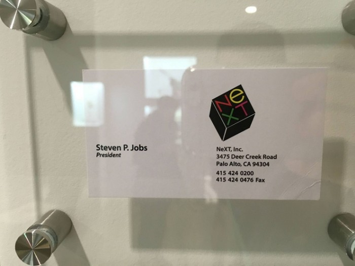 Tarjeta de presentación Steve Jobs NeXT
