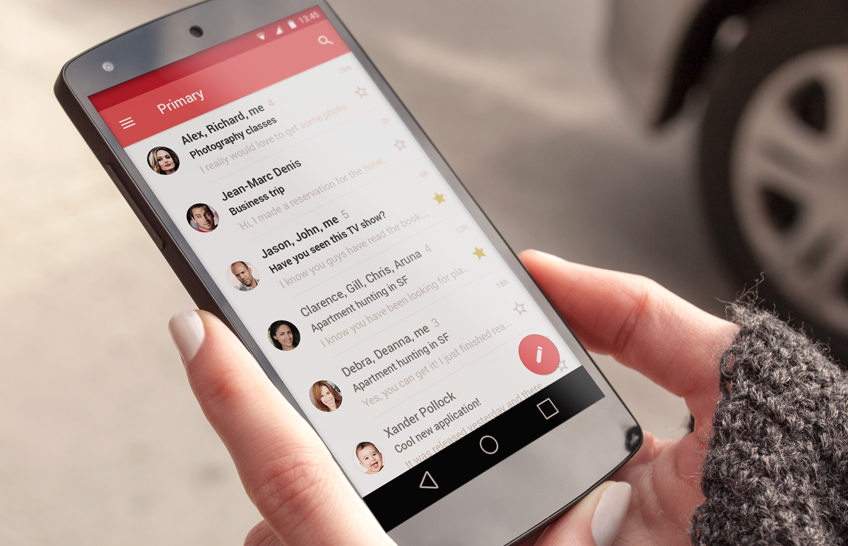 acceder gmail smartphone