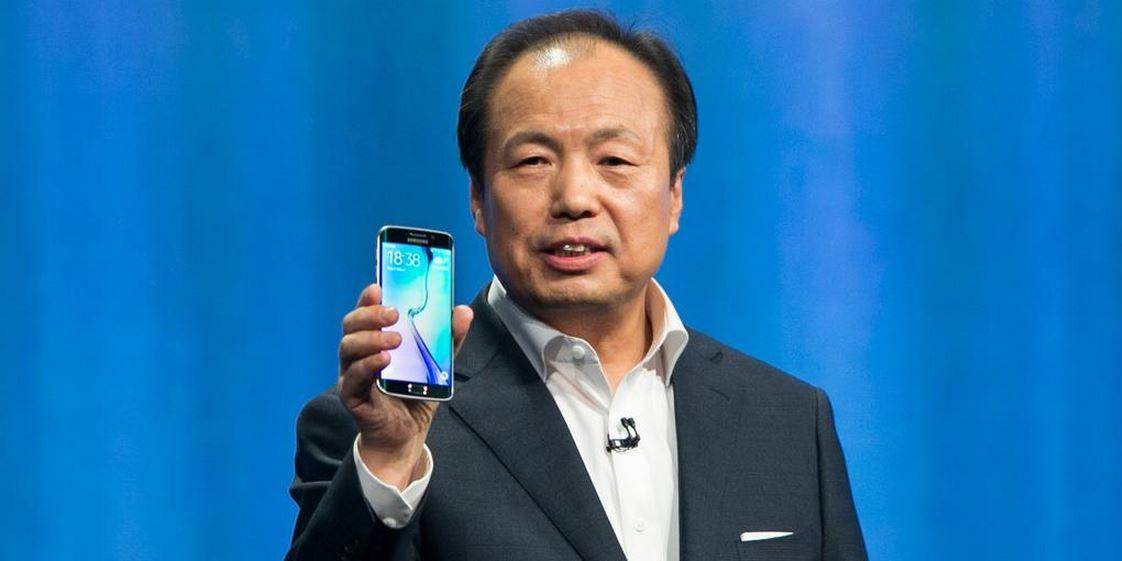 cambio ceo samsung mobile