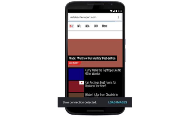 Chrome evitará cargas las imágenes en conexiones lentas