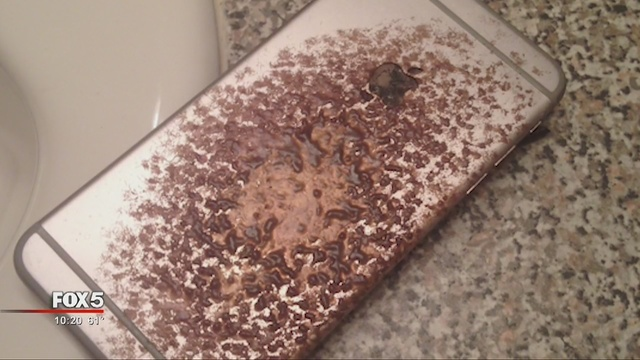 iPhone 6S casi incendia una casa