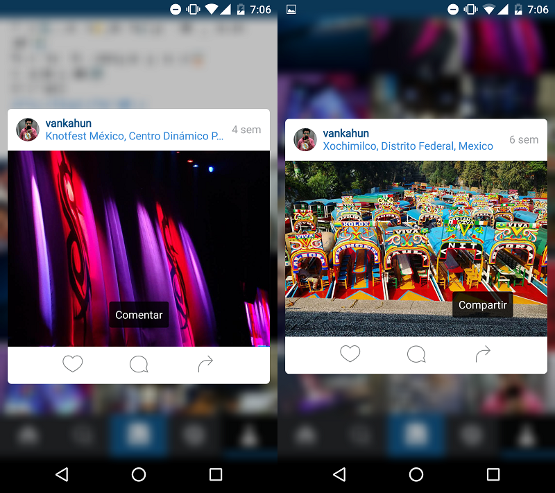 instagram android 3d touch 1