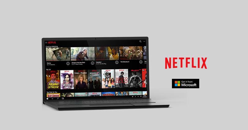 Netflix se actualiza para Windows 10