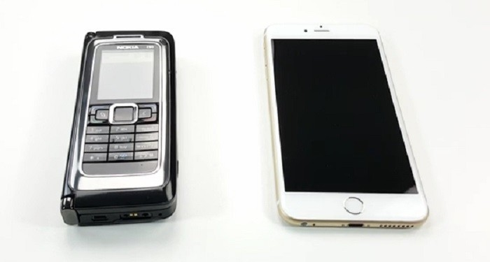 nokia e90 vs iphone 6s