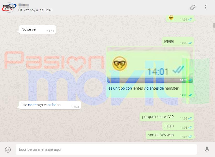 nuevos emojis whatsapp web android
