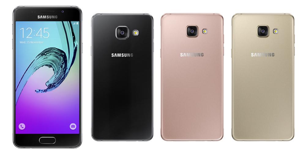 nuevos samsung galaxy a7 a5 a3 2016