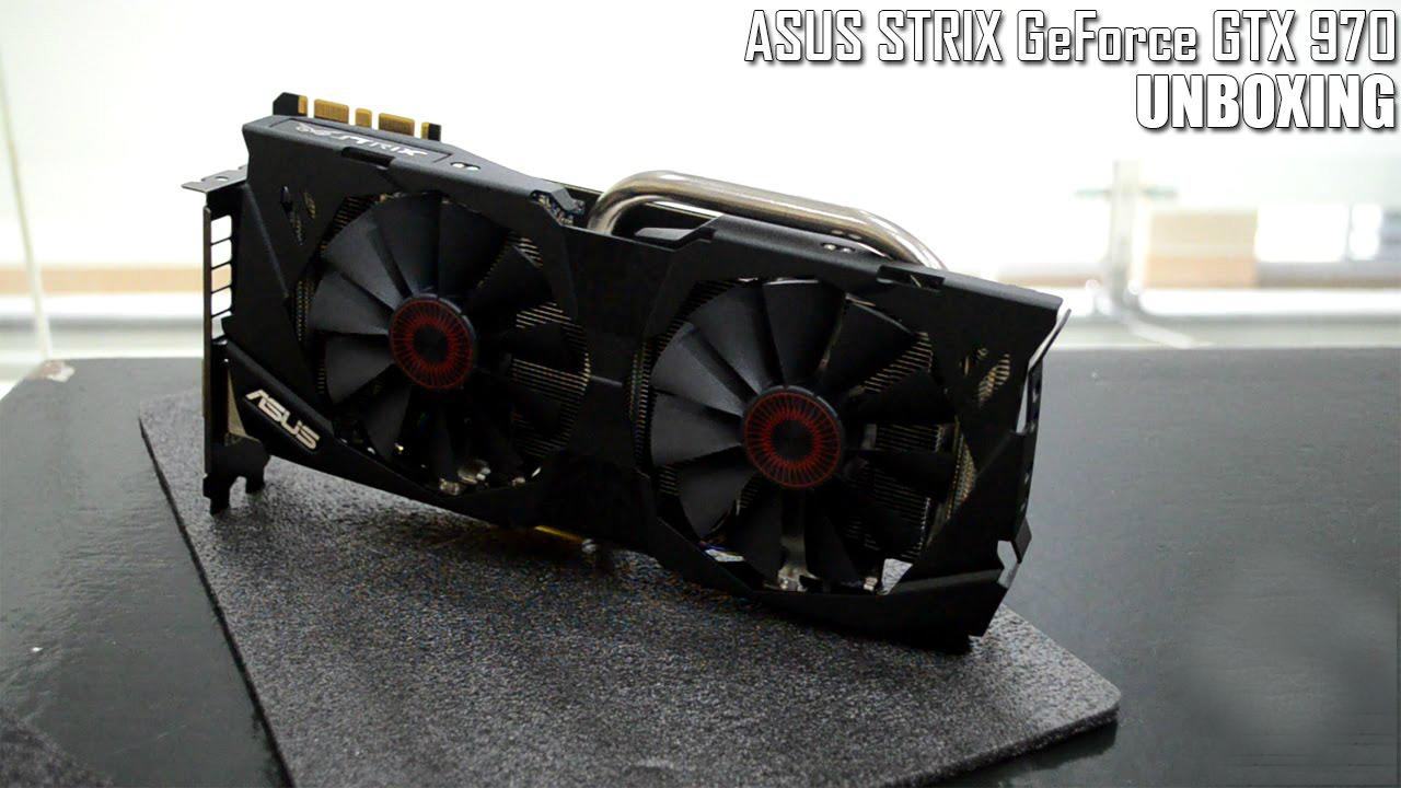 Unboxing de la ASUS Strix GTX 970