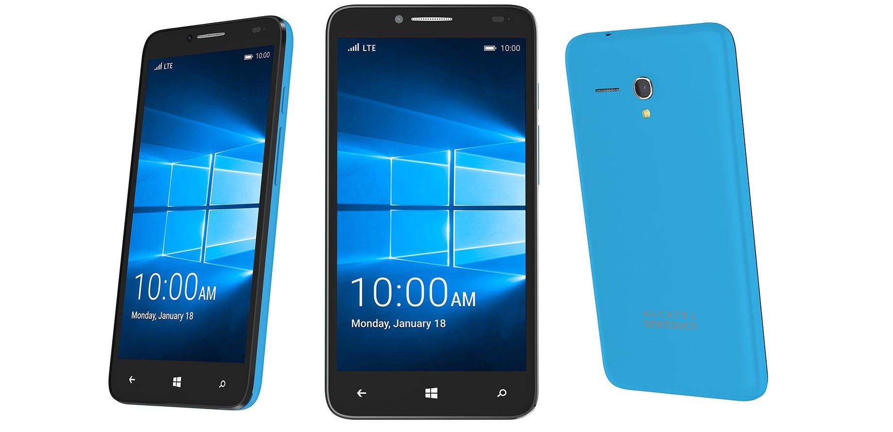 Alcatel OneTouch Fierce XL con Windows 10 Mobile es una interesante apuesta