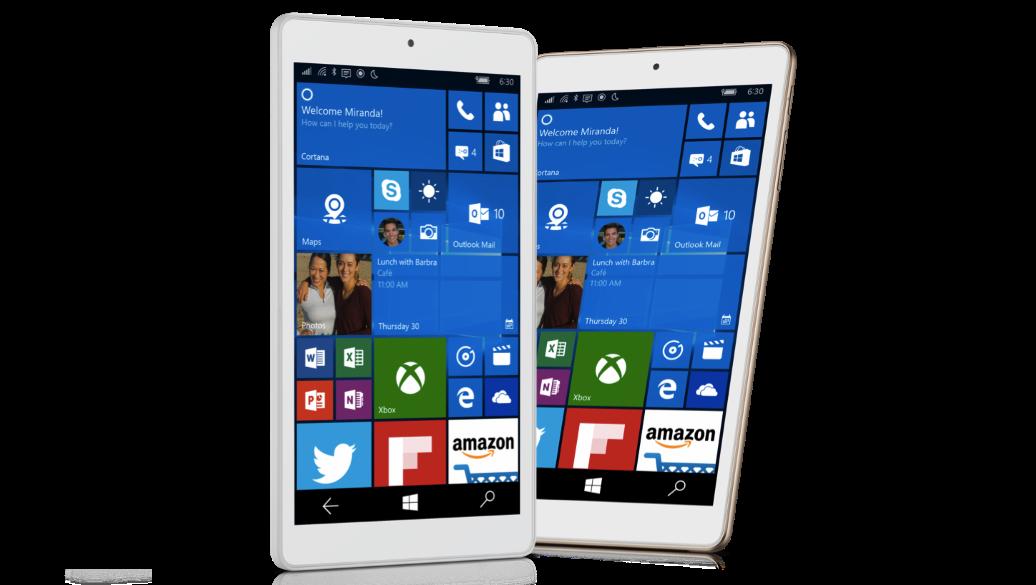 Alcatel Pixi 3 con Windows 10 Mobile CES 2016