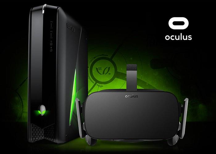 Oculus Rift + Alienware X51 con una pareja ideal