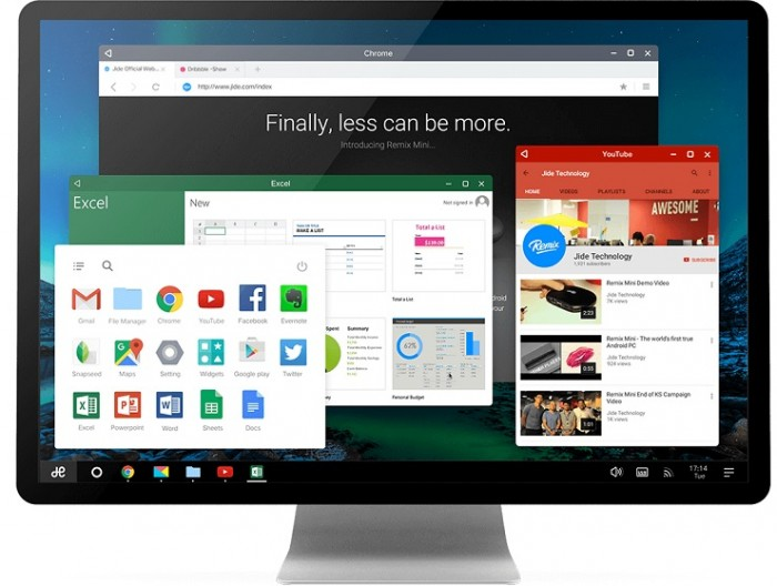 Android para PC Remix OS CES 2016