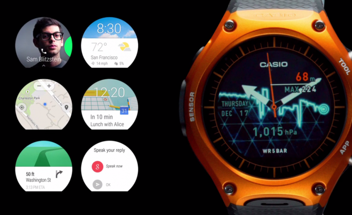 Casio Smart Outdoor Watch Android Wear