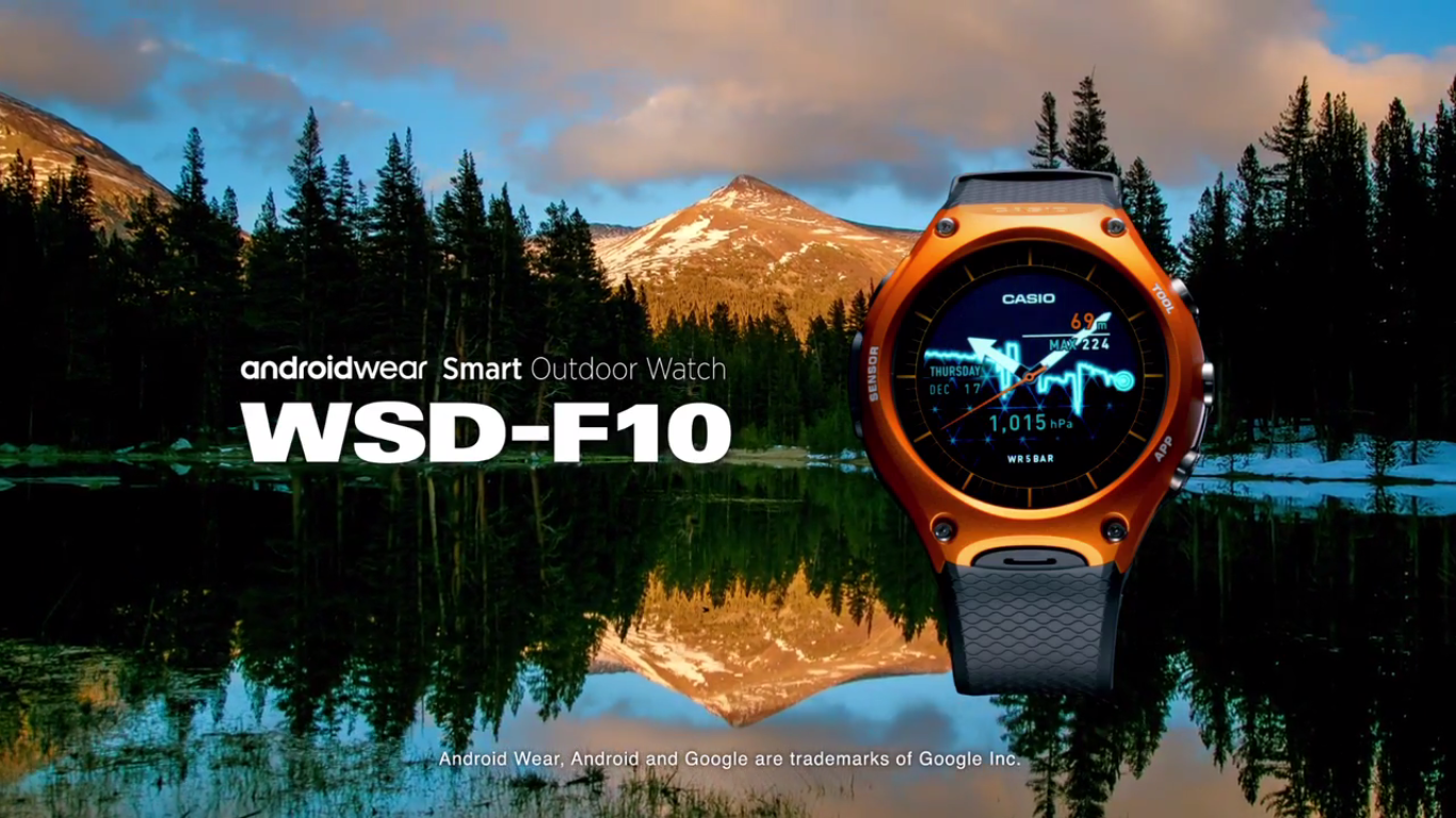 Casio Smart Outdoor Watch con Android Wear