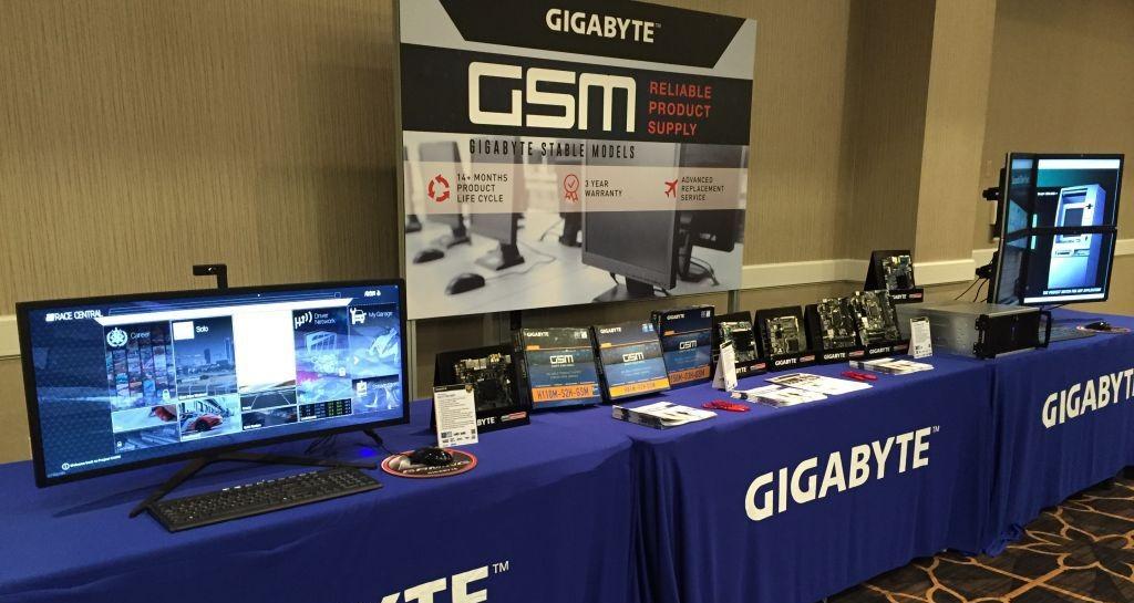 Gigabyte en el CES 2016