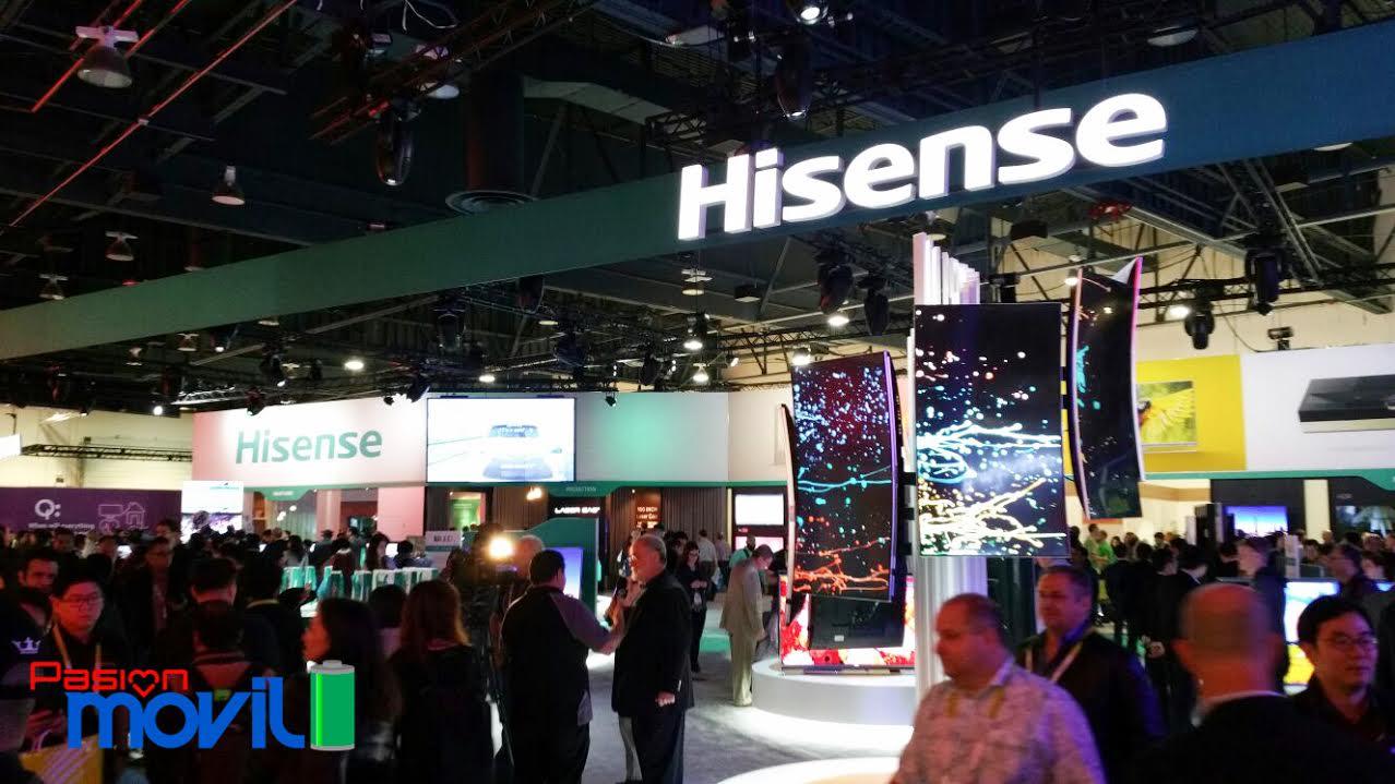 HiSense presente en el CES 2016