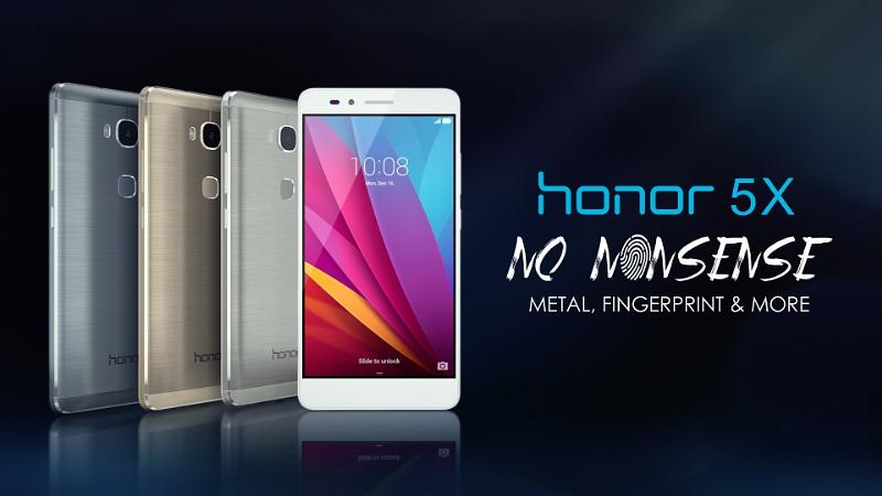 Honor 5X es presentado en Las Vegas