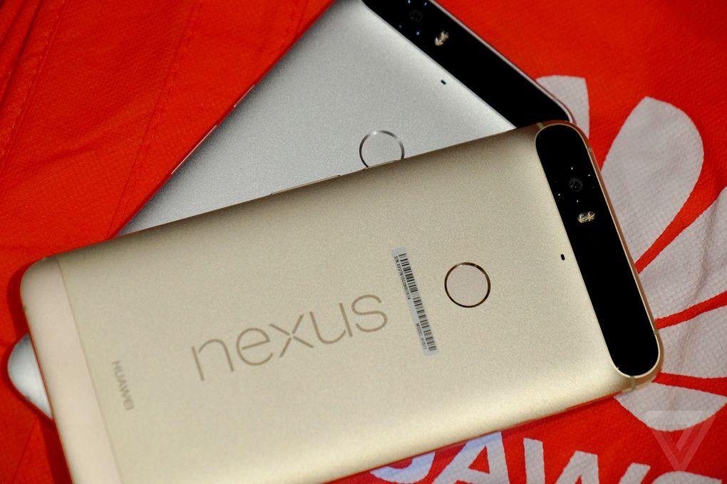 Huawei Nexus 6P dorado CES 2016 7