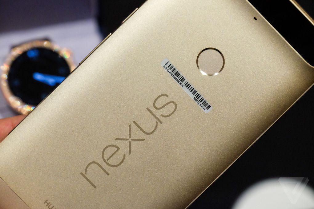 Huawei Nexus 6P dorado CES 2016 9
