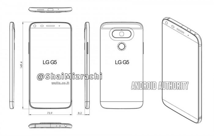 LG-G5 diagrama