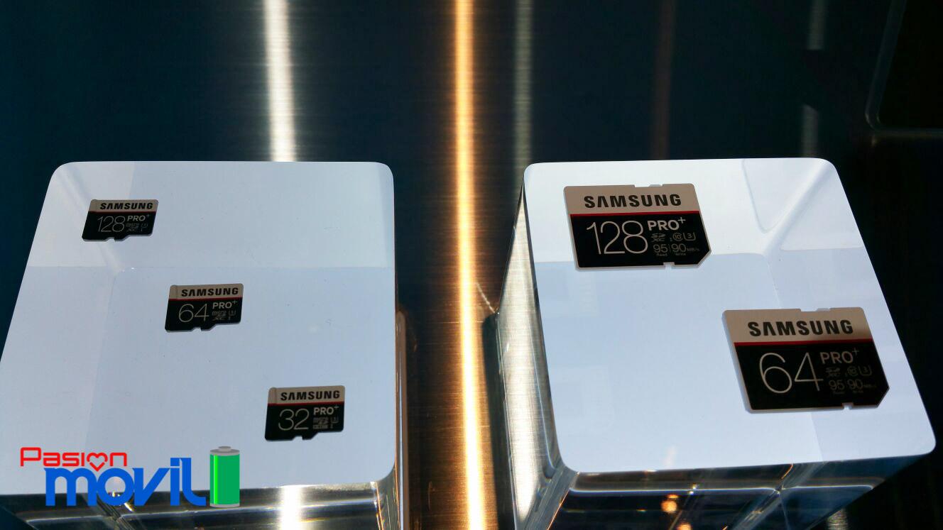 Memorias SD Samsung CES 2016