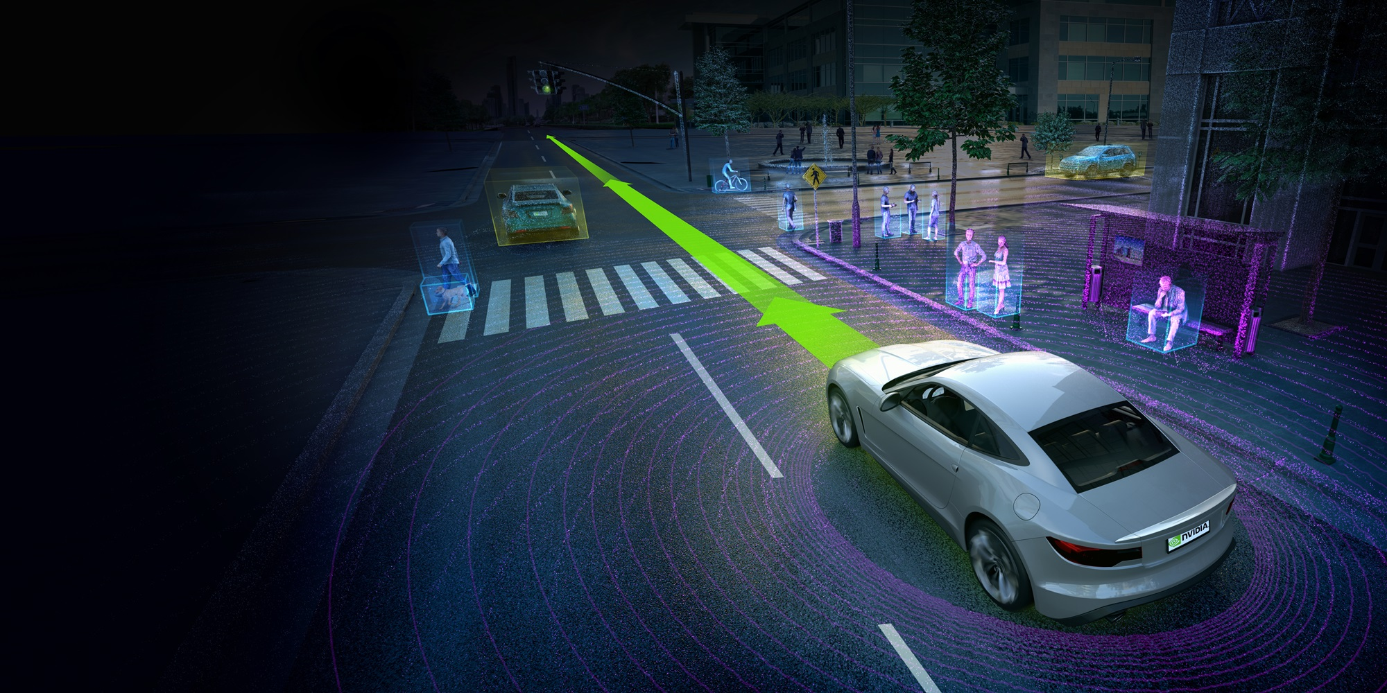 DriveNet identifica objetos alrededor del auto